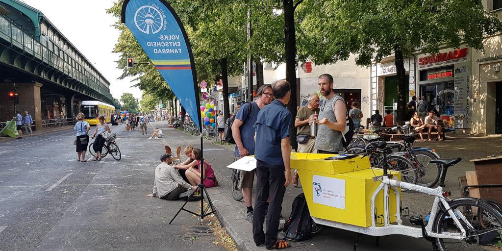 Netzwerk Fahrradfreundliches Pankow bei Schön!hauser (T. Kraudzun)